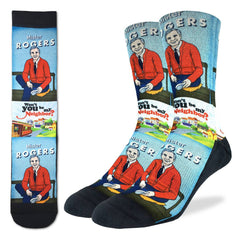 Men's Mister Rogers' Neighborhood Socks - Good Luck Sock