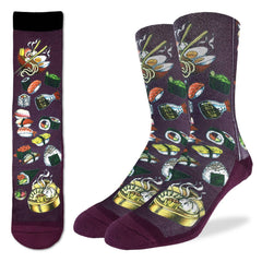 Men's Sushi Socks - Good Luck Sock