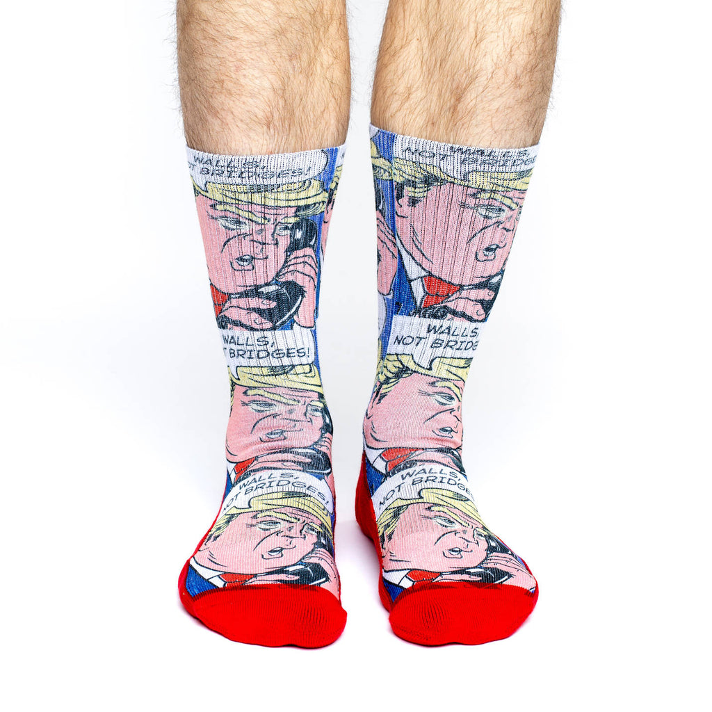 Men's Donald Trump Pop Art Socks