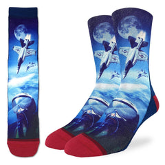 Men's F-18 Fighter Jet Socks - Good Luck Sock