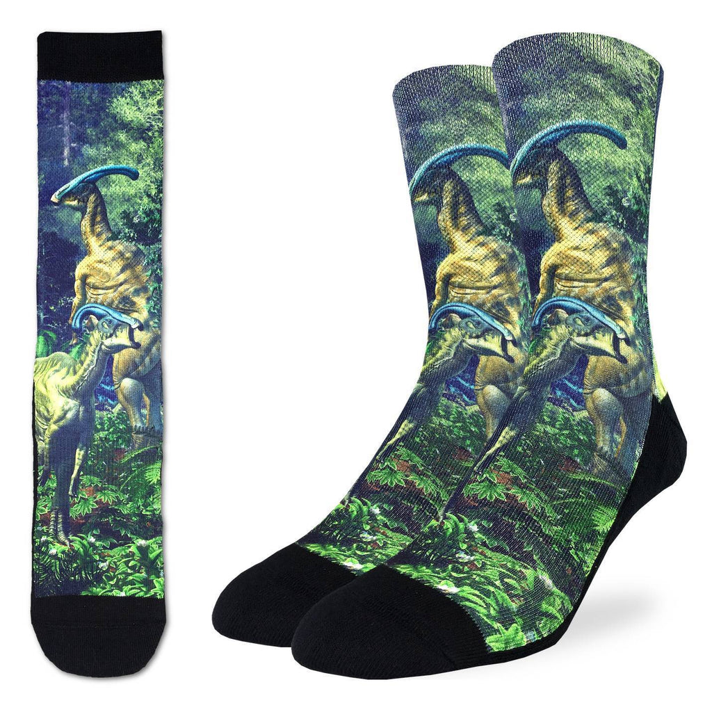 Men's Duckbilled Dinosaur Socks