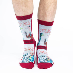 Men's Lovely Day for a Guinness Koala Socks