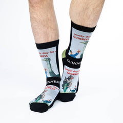 Men's Lovely Day for a Guinness Bear Socks - Good Luck Sock