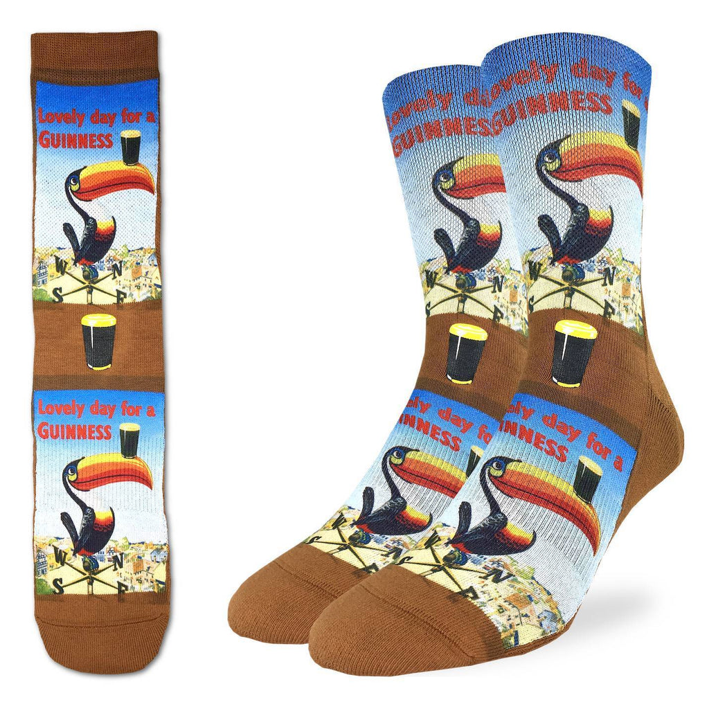 Men's Lovely Day for a Guinness Toucan Socks