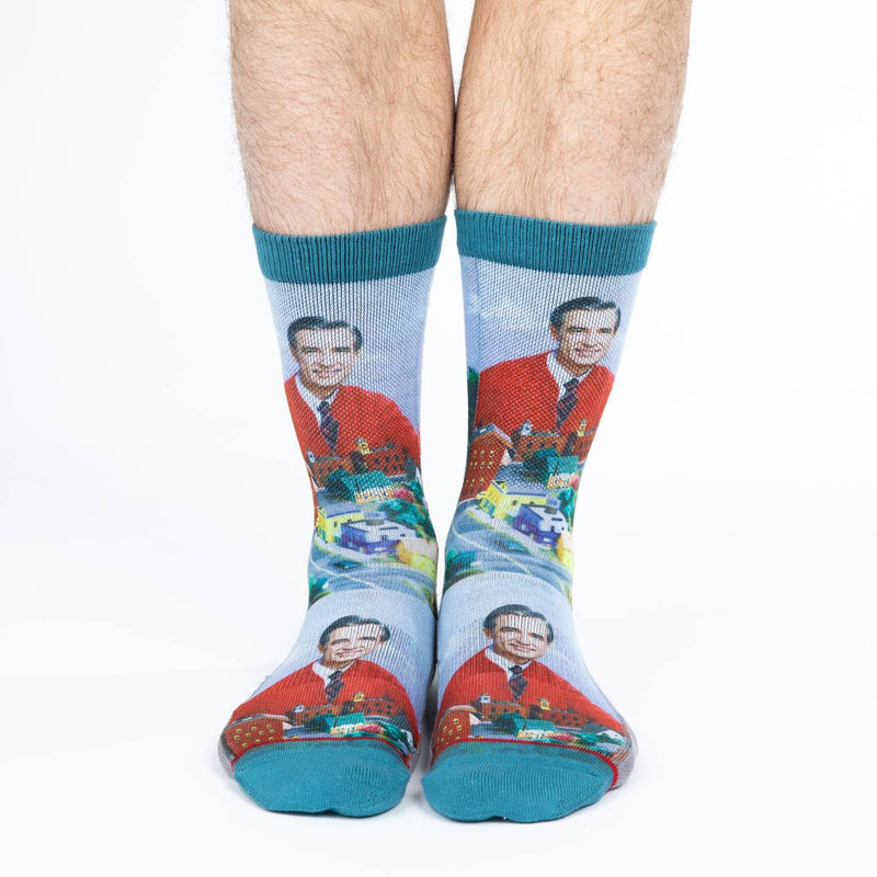 Men's Mister Rogers Make Believe Kingdom Socks
