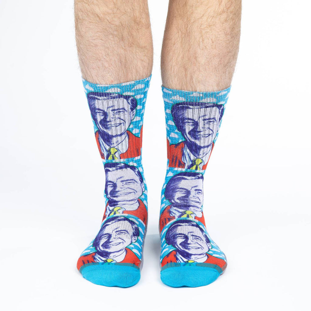 Men's Mister Rogers Pop Art Socks