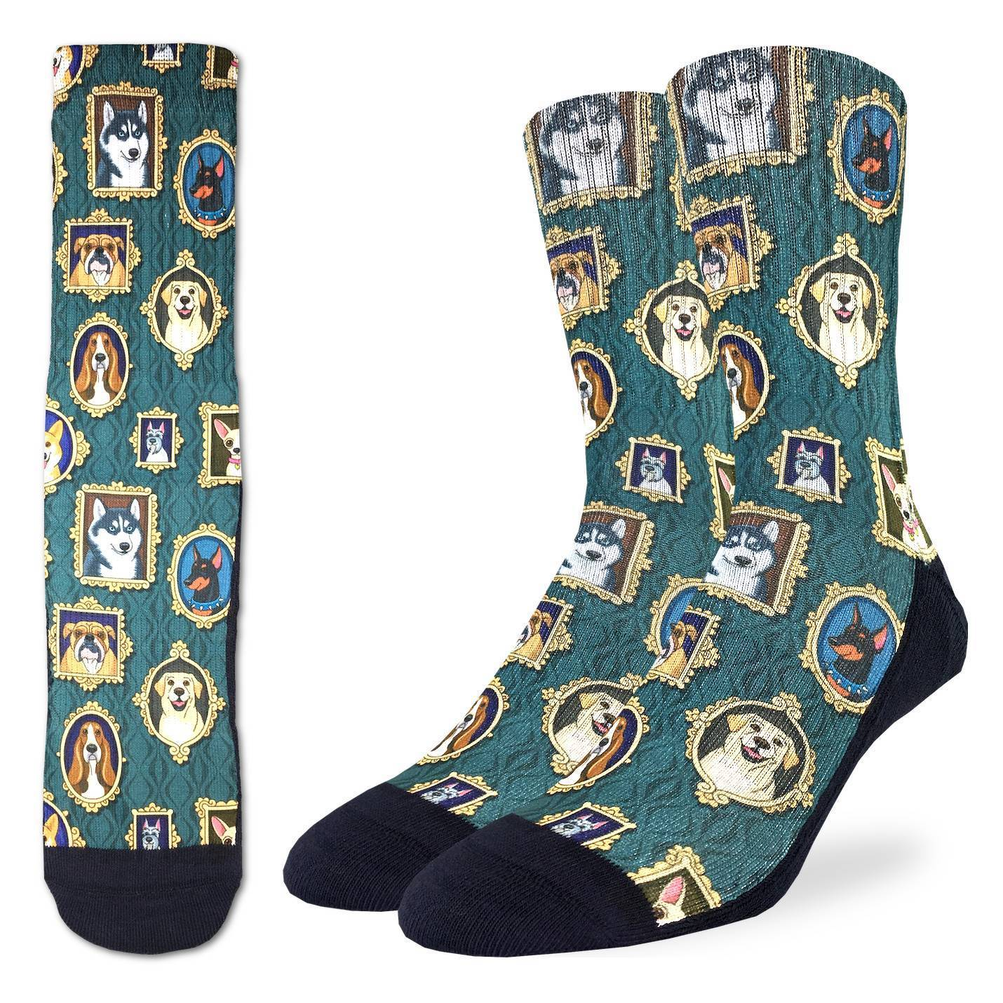 Men's Prized Dogs Socks - Good Luck Sock