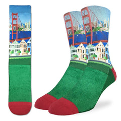 Men's San Francisco Socks - Good Luck Sock