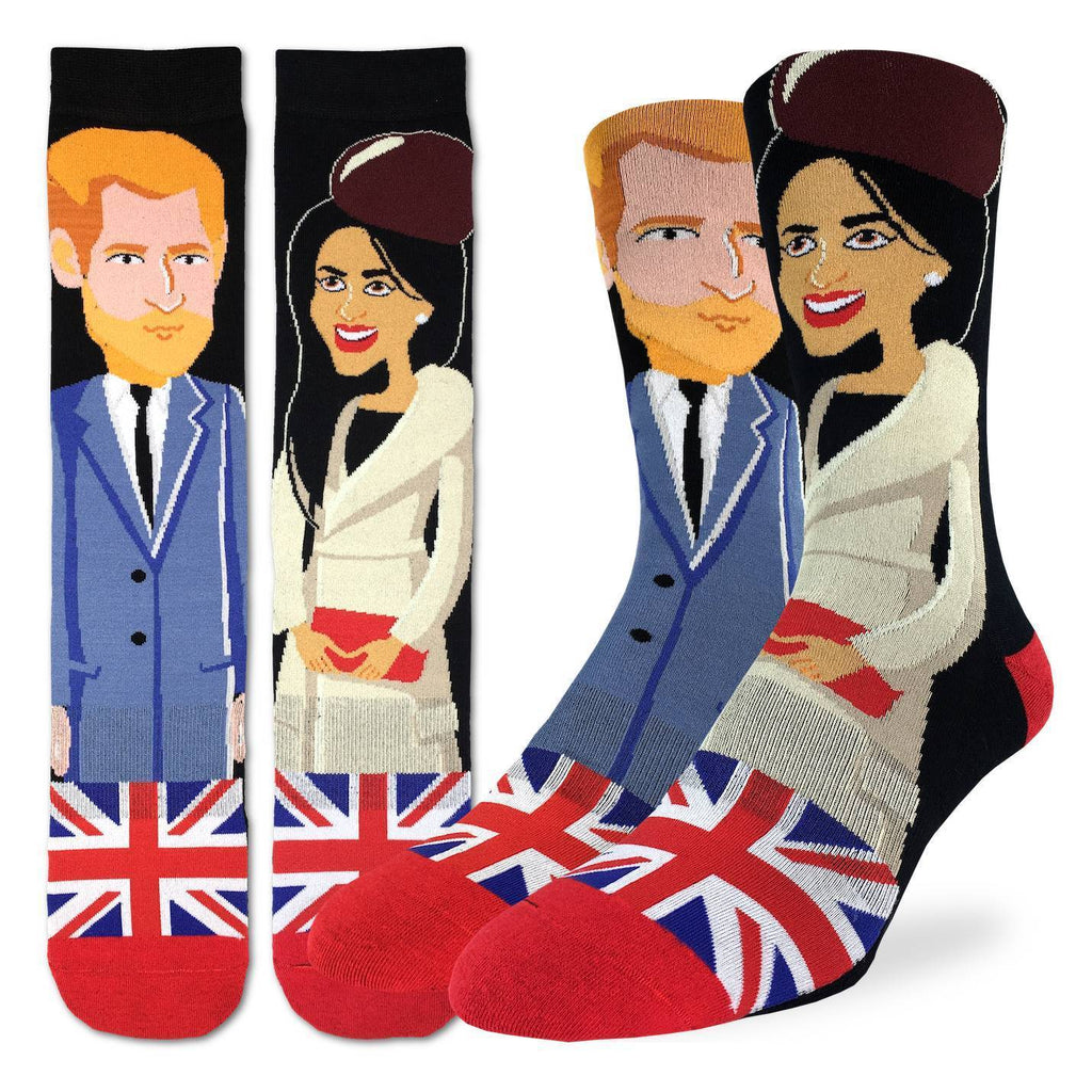 Men's Prince Harry & Meghan Markle Socks