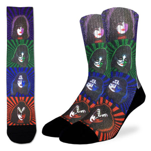 Men's Kiss Pop Art Socks