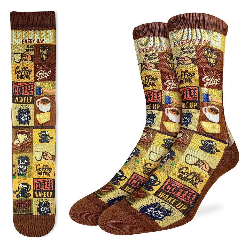 Men's Coffee Time Socks