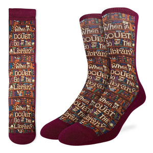 Men's Go to the Library Socks