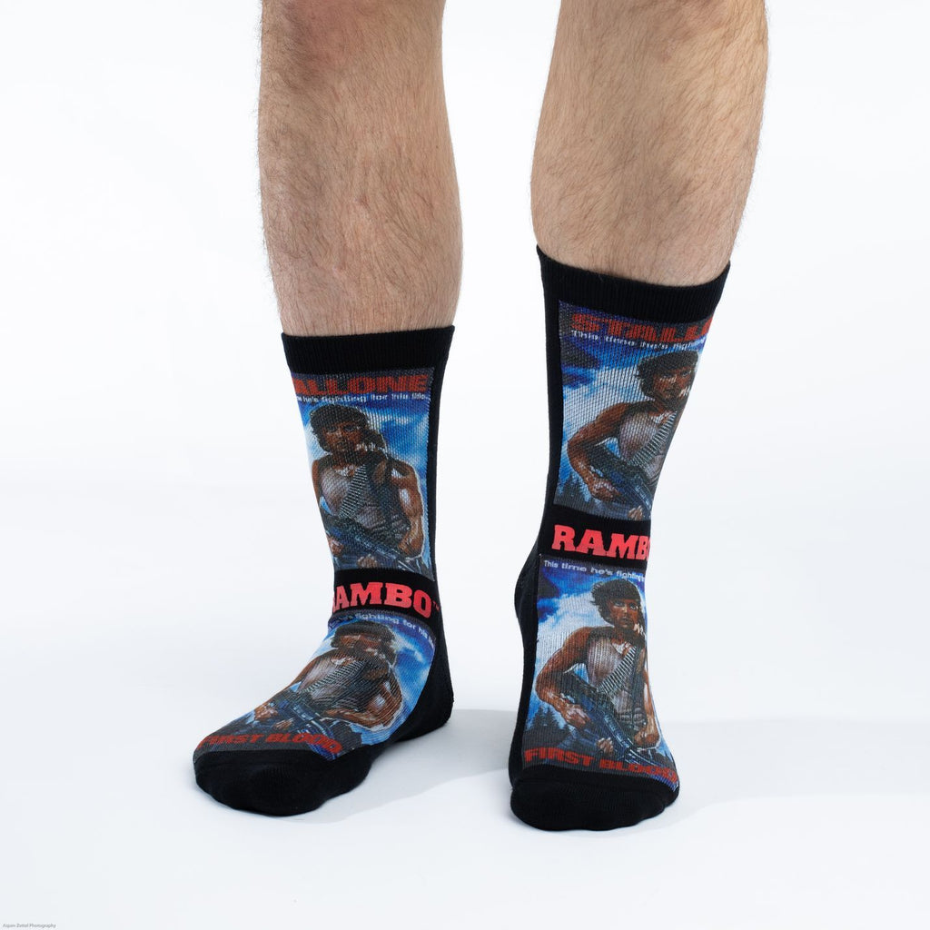 Men's Rambo First Blood Socks