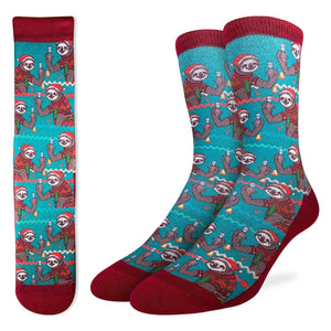 Men's Christmas Sloths Socks