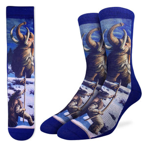 Men's Caveman vs. Mammoth Socks
