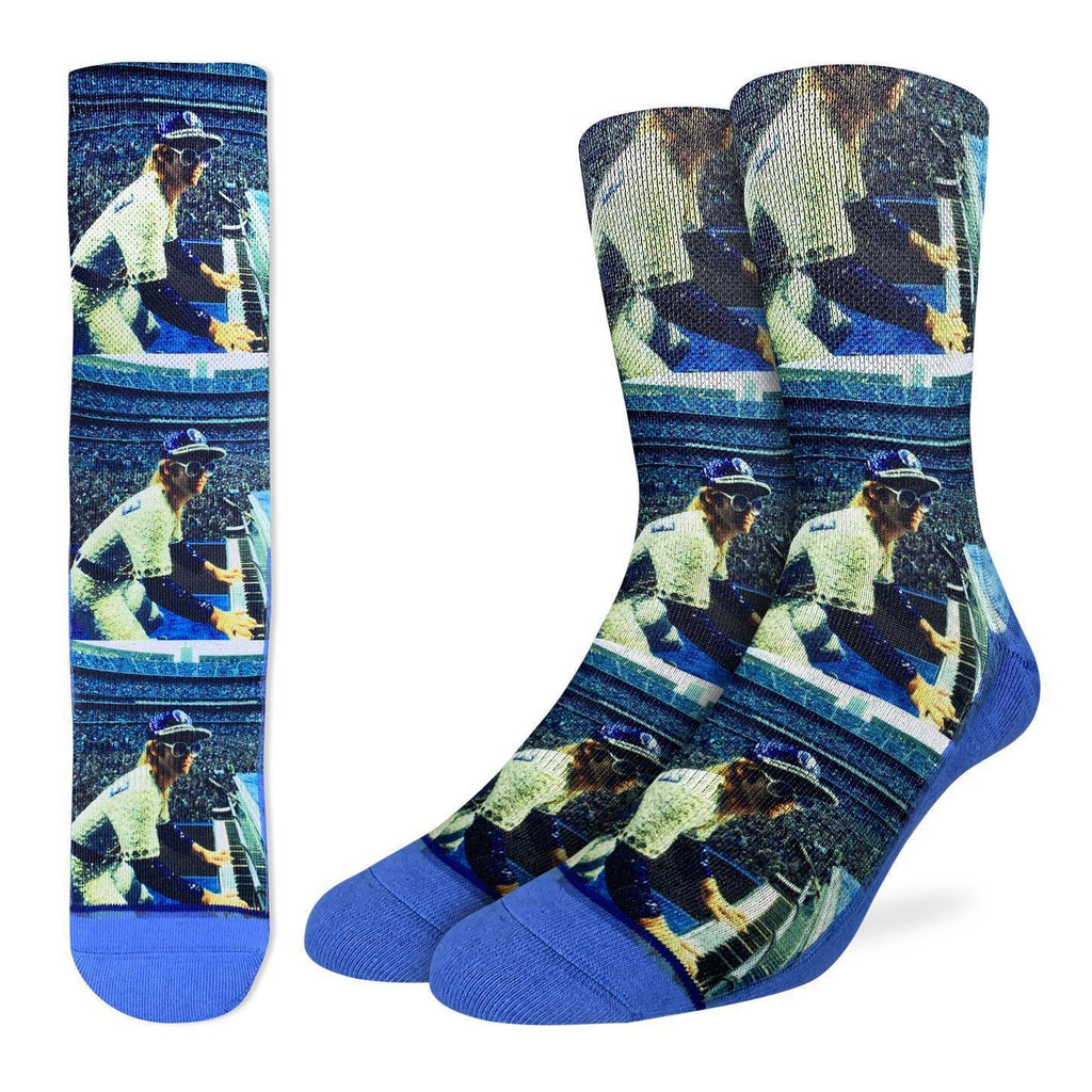 Men's Elton John Concert at Dodger Stadium Socks