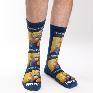 Men's Popeye I Y'am What I Y'am Socks