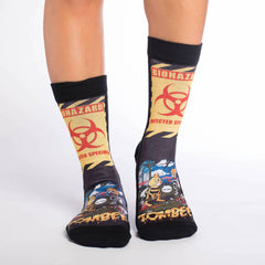 Women's Zombee Socks - Good Luck Sock