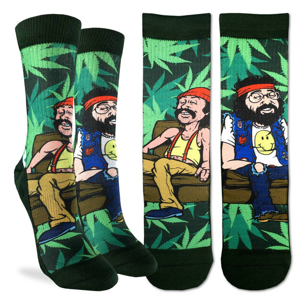 Women's Cheech & Chong on Couch Socks