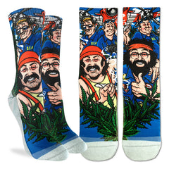Women's Cheech & Chong DEA Socks - Good Luck Sock