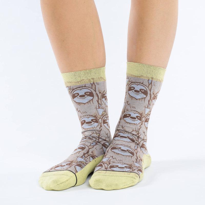 Women's Coffee Sloth Socks