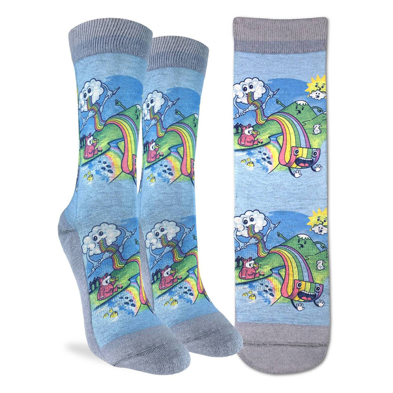 Women's Eating Rainbow Pasta Socks