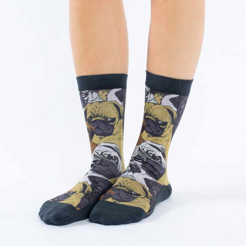 Women's Social Pugs Socks
