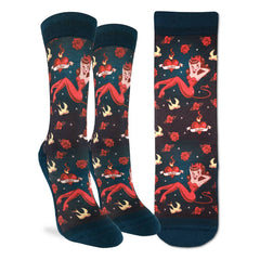 Women's She Devil Socks - Good Luck Sock