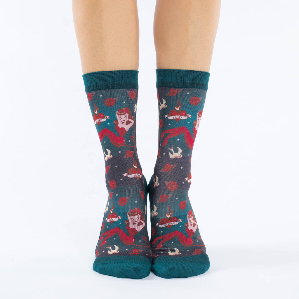 Women's She Devil Socks