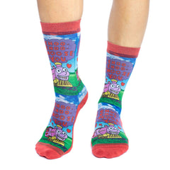 Women's I Choo Choo Choose You Socks - Good Luck Sock
