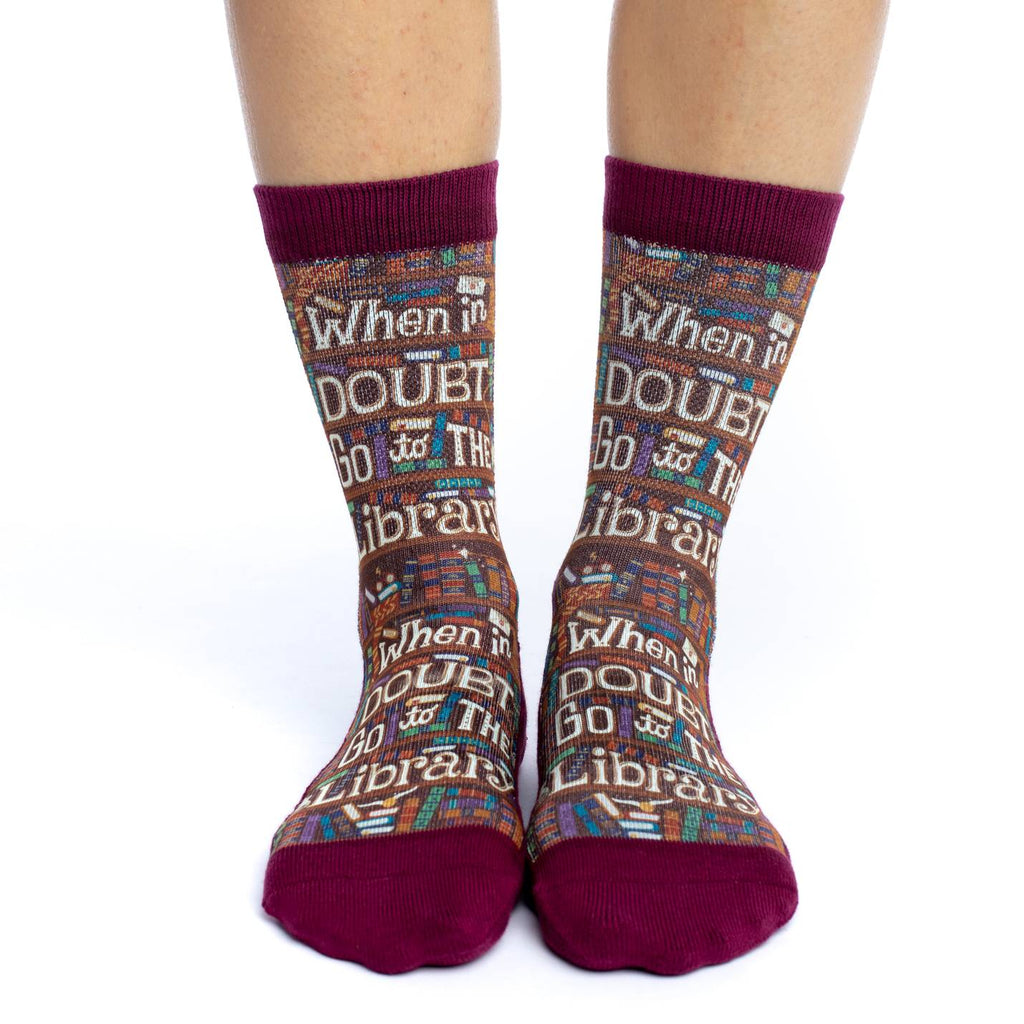 Women's Go to the Library Socks