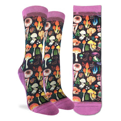 Women's Mushrooms Socks - Good Luck Sock