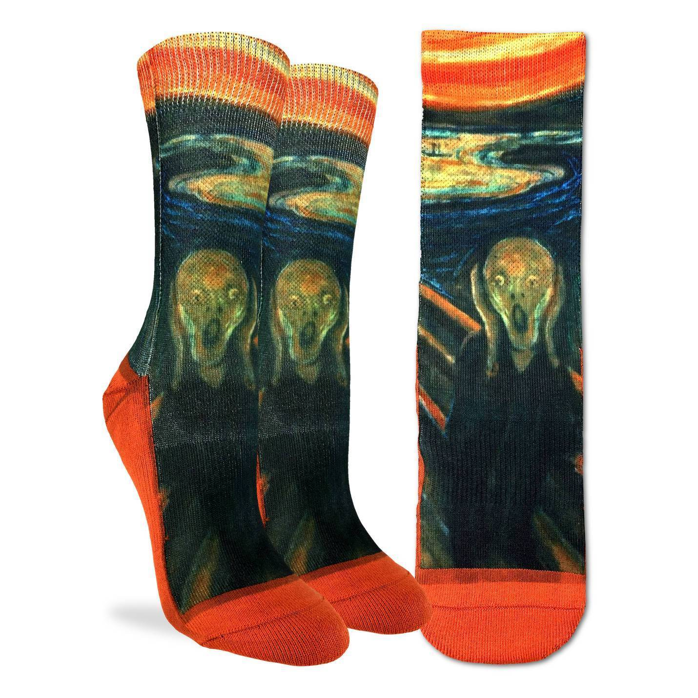Women's The Scream Socks - Good Luck Sock