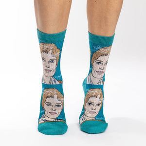Women's Amelia Earhart Portrait Socks