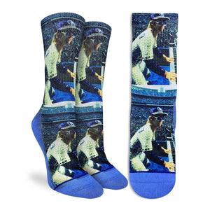 Women's Elton John Concert at Dodger Stadium Socks