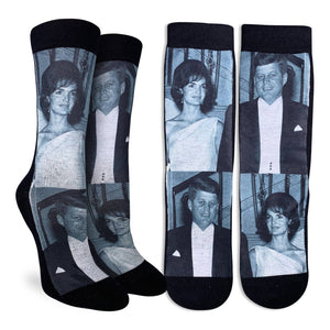 Women's John & Jackie Kennedy Socks