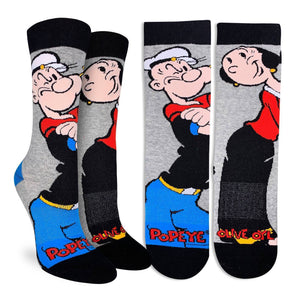 Women's Popeye and Olive Socks