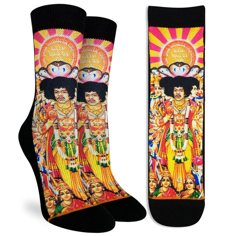 Women's Jimi Hendrix Axis: Bold as Love Socks