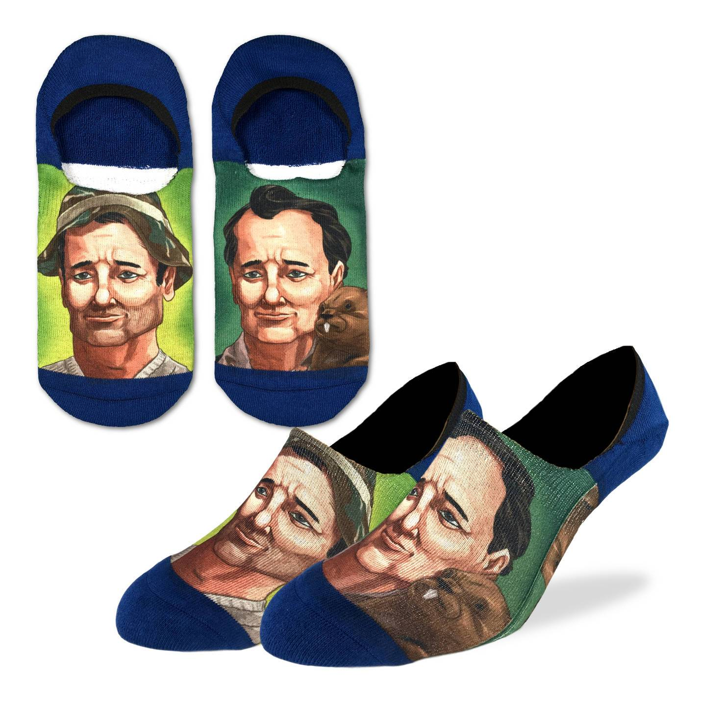 Men's Bill Murray No Show Socks - Good Luck Sock