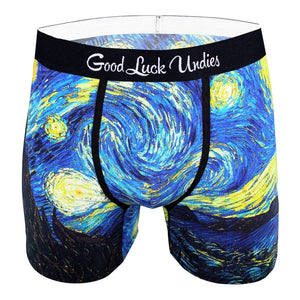 Men's The Starry Night Underwear