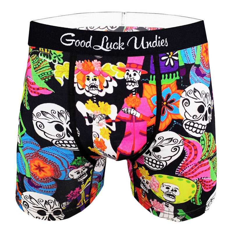 Men's Day Of The Dead Underwear