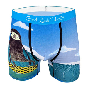 Men's Surfing Sloth Underwear