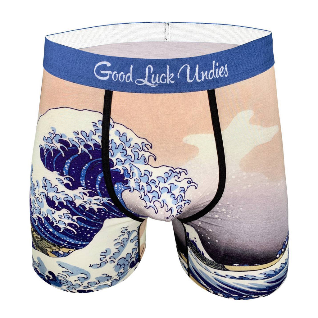 Men's The Great Wave off Kanagawa Underwear