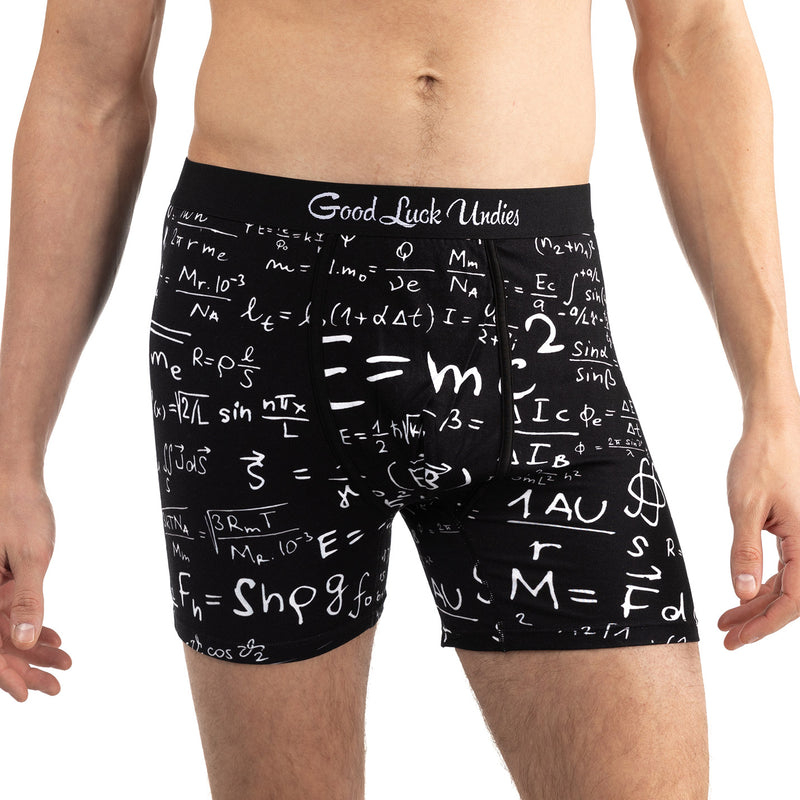 Men's Math Equations Underwear