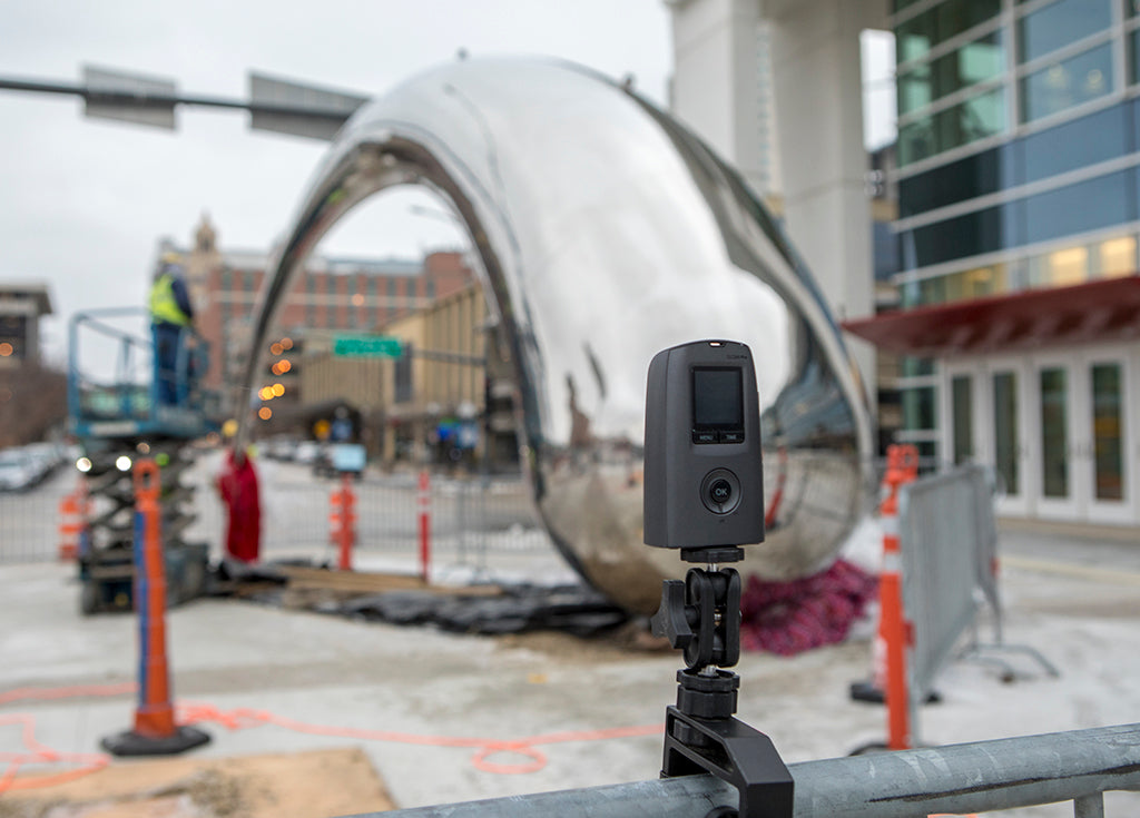 Mayo Civic Center Sculpture Installation, Brinno Time Lapse, an Expression in Rochester, MN
