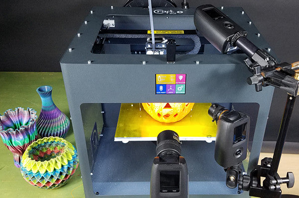 Behind the Video - 3D Printed Halloween Pumpkin Brinno Time Lapse