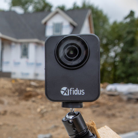 Timelapse home construction