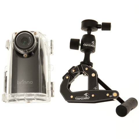 Brinno TLC 200T Time Lapse Camera Bundle with Takeaway Clamp - TimeLapseCameras
