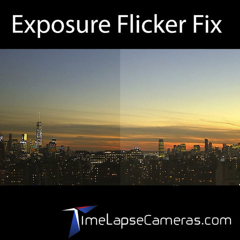 Brinno Exposure Flicker Fix