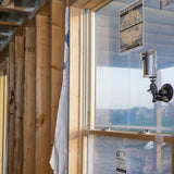 Timelapse Construction Camera Window Mount